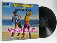 CLIFF RICHARD WITH THE SHADOWS wonderful life soundtrack ost (1st uk) LP EX/EX-