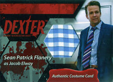 Dexter Seasons 7 & 8 Costume Wardrobe Card C7 Sean Patrick Flanery Jacob Elway