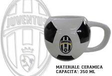 TAZZA PALLONE JUVENTUS IN CERAMICA Squadra Juve Bianconeri Calcio Zebra MC27JV