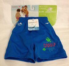 Speedo Swim Diaper Shorts Size S Baby 0-6 Months UV 50 Boys Swimwear New