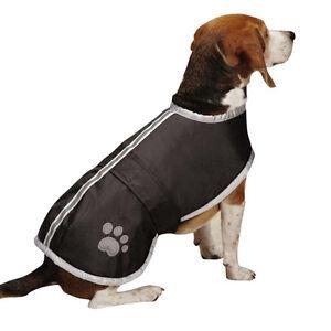 Reversible Blanket Dog Coat Jacket Reflective Rain Noreaster Pet Water Resistant