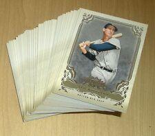 2013 Topps Triple Threads baseball base 55-card lot Nolan Ryan/Dimaggio/PUIG 69
