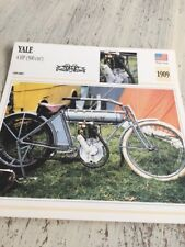 Yale 4HP 500 cm3 1909 Carte moto Collection Atlas USA