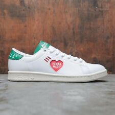 New listing Adidas Stan Smith Human Made Men's Athletic Tennis Shoe White Trainers Sneaker