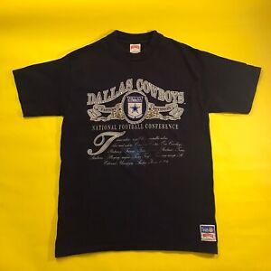 Vintage 1990s Dallas Cowboys Nutmeg T-Shirt • Large / XL  USA Made