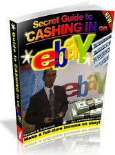 SECRET GUIDE TO CASHING IN ON EBAY PDF EBOOK FREE SHIPPING RESALE RIGHTS