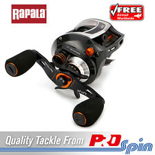 Rapala Shift 150 Custom Saltwater Baitcast Fishing Reel - 13+1 Bearings 6.5:1