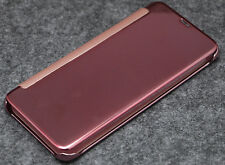 COVER CASE BOOK FOR SAMSUNG GALAXY S8 Y S8 PLUS FLIP WITH COVER EFFECT MIRROR