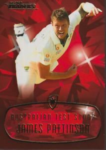 James Pattinson 20/21 TLA Traders Mojo Ruby Big Bash BBL Cricket Card MR11 24/40