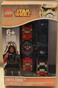 lego star wars 8020332 buildable watch with darth maul minifigure