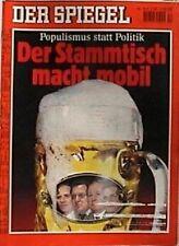SPIEGEL 10/1996 Politik am Stammtisch und Populismus