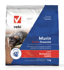 Murin Forte Granulate 1Kg Effective Granulate to Fight Rats Mouse Mice Rodents
