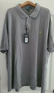 "Polo Ralph Lauren Men's 5XB Gray Cotton  33""pit  36"" length"