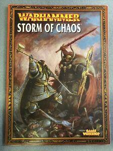 Warhammer Armies Storm Of Chaos Army Book Codex Games Workshop OOP Fantasy WFB