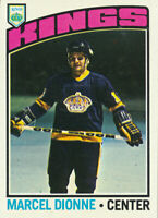 1976-77 Topps Marcel Dionne Los Angeles Kings #91 HOF  Hockey Card