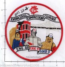 Illinois - Chicago Engine 46 IL Fire Dept Patch v1 - Wizard Of Oz