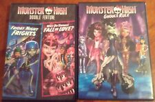 Monster High Dvd's Ghouls Rule And Double Feature 3 Movies Total