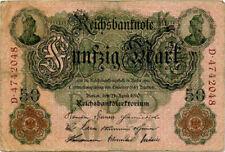 Billets du monde de l'Allemagne