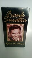 New Frank Sinatra Relive The Magic 2 Set of VHS Cassette Tape. Sealed