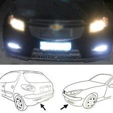 Car Truck Universal Daytime Running Fog Aux 16 LED White Light 2pcs
