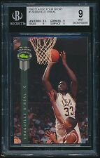1992 Classic Four Sport rookie #1 Shaquille O'Neal rc BGS 9 Mint