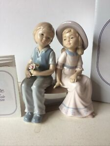 The Leonardo Collection - FIRST LOVE - Boxed Boy And Girl