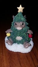 Charming Tails oh Mackenzie Tree By Fritz & Floyd In Excellent Condition 87/213