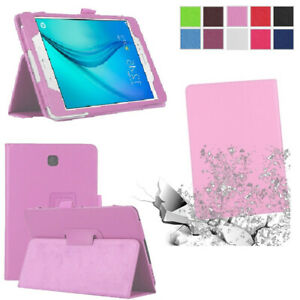 Thin Flip Leather Stand Case Cover For Samsung Galaxy Tab E 8.0 9.6 T377 T560