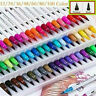 Dual-Brush Pens Art Fine Tip Coloring Markers Bullet Journal For Sketching Pack