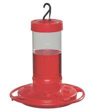 First Nature 993051-546 Hummingbird Feeder, 16 Oz, Red Plastic