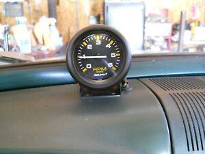6 Volt Positive or Negative Ground Tachometer