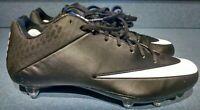 Nike Vapor Speed 2 Football Black Removable Cleats 847096-012 Men's Size 11