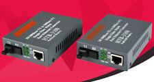 A Pair Fiber optical converter HTB--3100AB 10/100Mbps single mode 25KM RJ45