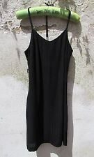 GFF GIANFRANCO FERRE Hot Sparkly Y Strappy Little Black Hot Party Dress XS