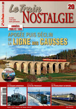 LE TRAIN NOSTALGIE N°20 - La ligne des CAUSSES (inclus DVD)