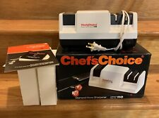 New listing Chef's Choice 110 Professional Diamond Hone 3 Stage Electric Knife Sharpener