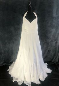 STUNNING WEDDING DRESS BY BERKETEX, SIZE 22 24 26 , BRIDAL GOWN  RRP £900