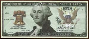 WASHINGTON - FOUNDING FATHERS - Fantasy Note