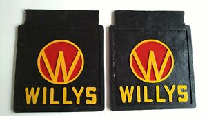 WILLYS JEEP CJ2A, CJ3A, CJ3B, CJ5 mud flaps