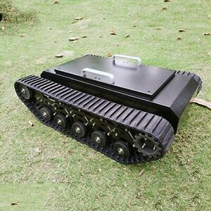 TR500 Tracked Robot Chassis Tank Chassis Assembled Shock Absorption Load 50KG#