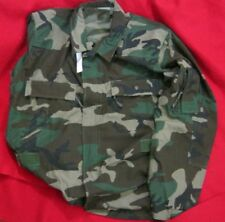 Army AIRCREW COMBAT UNIFORM WOODLAND BDU JACKET EXTRA LARGE LONG NWT