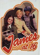 Vintage James At 16 Teen Idol Iron-On Transfer Full Cast LAST ONE!