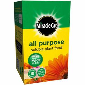 Multi Purpose Plant Fertiliser Food Soluble Vegetable Flower Feed Miracle-Gro