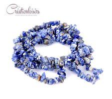 20 perles chips pierre semi-précieuse de taille et forme irrégulière