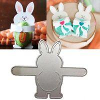 Cartoon Rabbit Frame Cutting Dies Craft Die Stencils Embossing Photo Paper Card