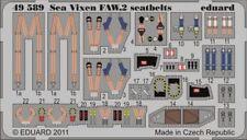 Eduard 1/48 de Havilland Sea Vixen FAW. 2 Seatbelts for Airfix kit # 49589