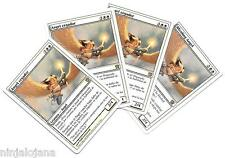 4 ANGEL CEGADOR 9th NM- Blinding Angel 3 en Español 1 en Ingles MAGIC Playset