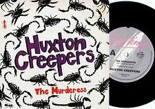 Huxton Creepers~Original OZ PS 1st 45 Murderess EX 1985 Jangly guitar Alt Rock