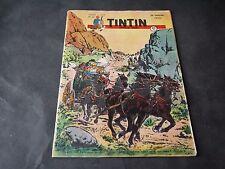 JOURNAL DE TINTIN FRANÇAIS N°66 COUVERTURE PAUL CUVELIER