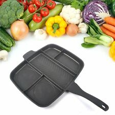Original Magic Pan Non-Stick Multi-Section 5-in-1 Frying Grill Hob Magicpan